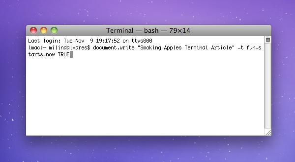 how to unlock files on mac terminal